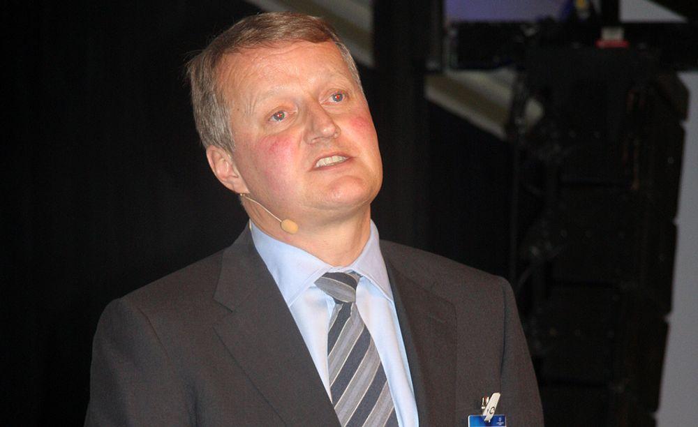 OPTIMISTISK: Rune Bjerke, konsernsjef i DnB NOR, tror norsk økonomi går gode tider i møte, mye takket være olje- og gassnæringen.