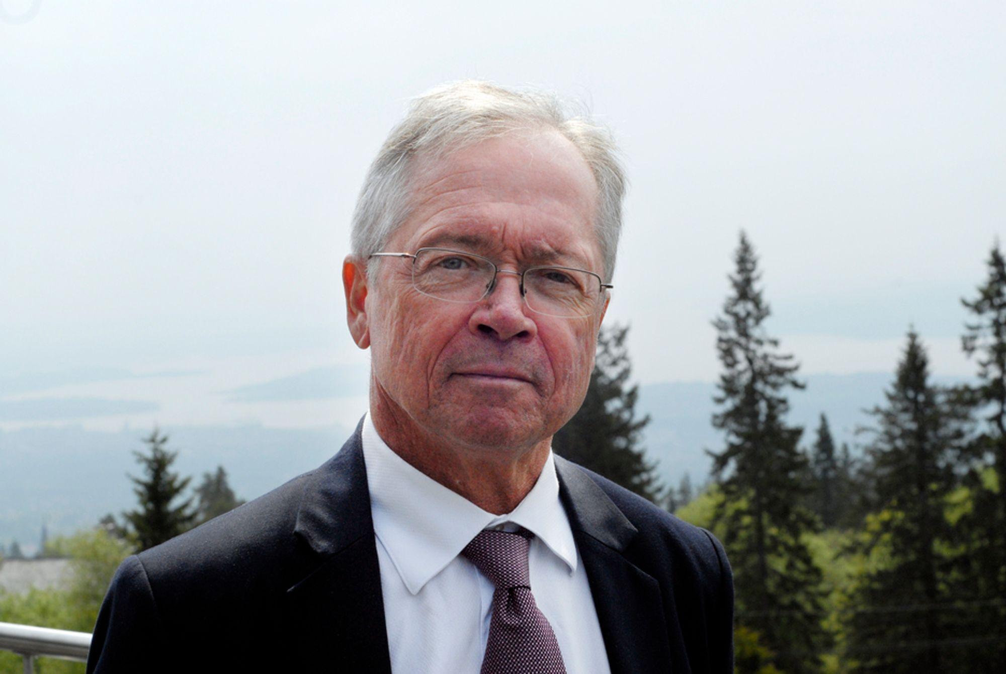UVIKTIG EIERSKAP: Det har ikke noe å si om Vattenfall eller Statnett eier den planlagte strømkabelen mellom Storbritannia og Norge, bare den blir bygget, mener Vattenfall-direktør Gunnar Lundberg.