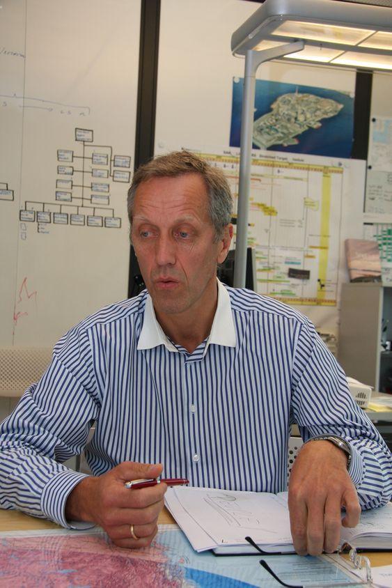 KOMPETANSE: Bjørn Gundersen plukker de beste ingeniørene lokalt i Russland og Canada for å gjennomføre prosjektene Sakhalin I og Hebron.