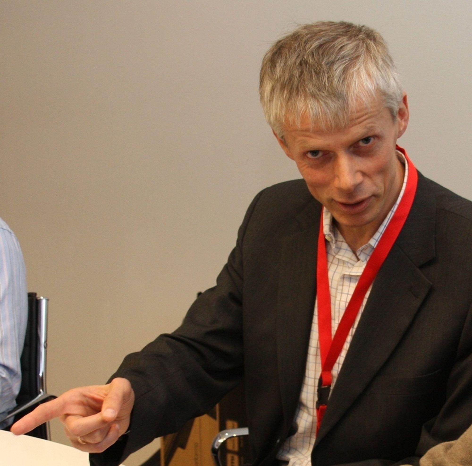 RYDDER IKKE: Difi-direktør Hans Chr. Holte ser at offentlige virksomheter velger egne eID-løsninger, men ser ikke behov for å rydde opp.