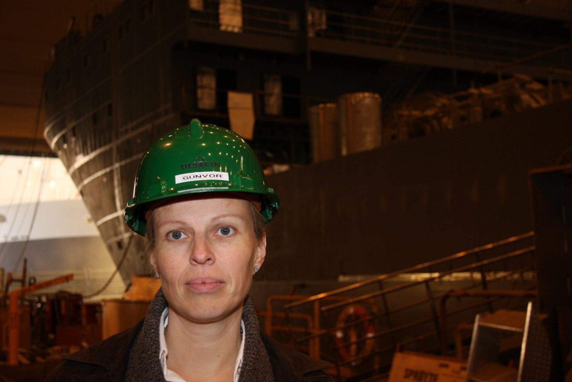 Gunvor Ulstein, konsernsjef i Ulsteinkonsernet, mener den maritime klyngen er uvurderlig på Sunnmøre og vil gi sitt bidrag til at den forsterkes.