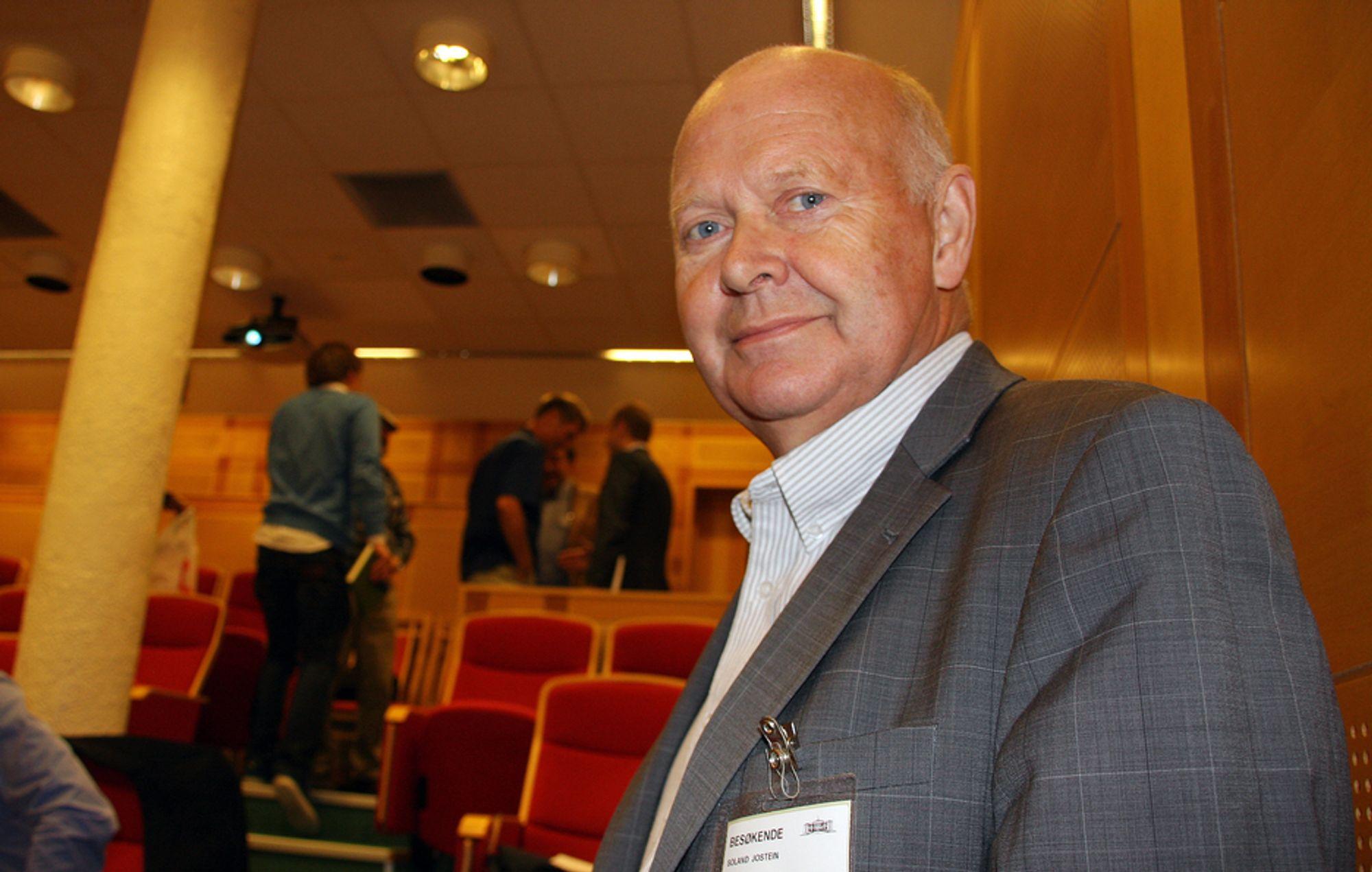 ØNSKER ØKT SATSING: - Jernbanen har vært innovativ i samfunnsutviklingen før, og det kan den bli på nytt, sier Jostein Soland.