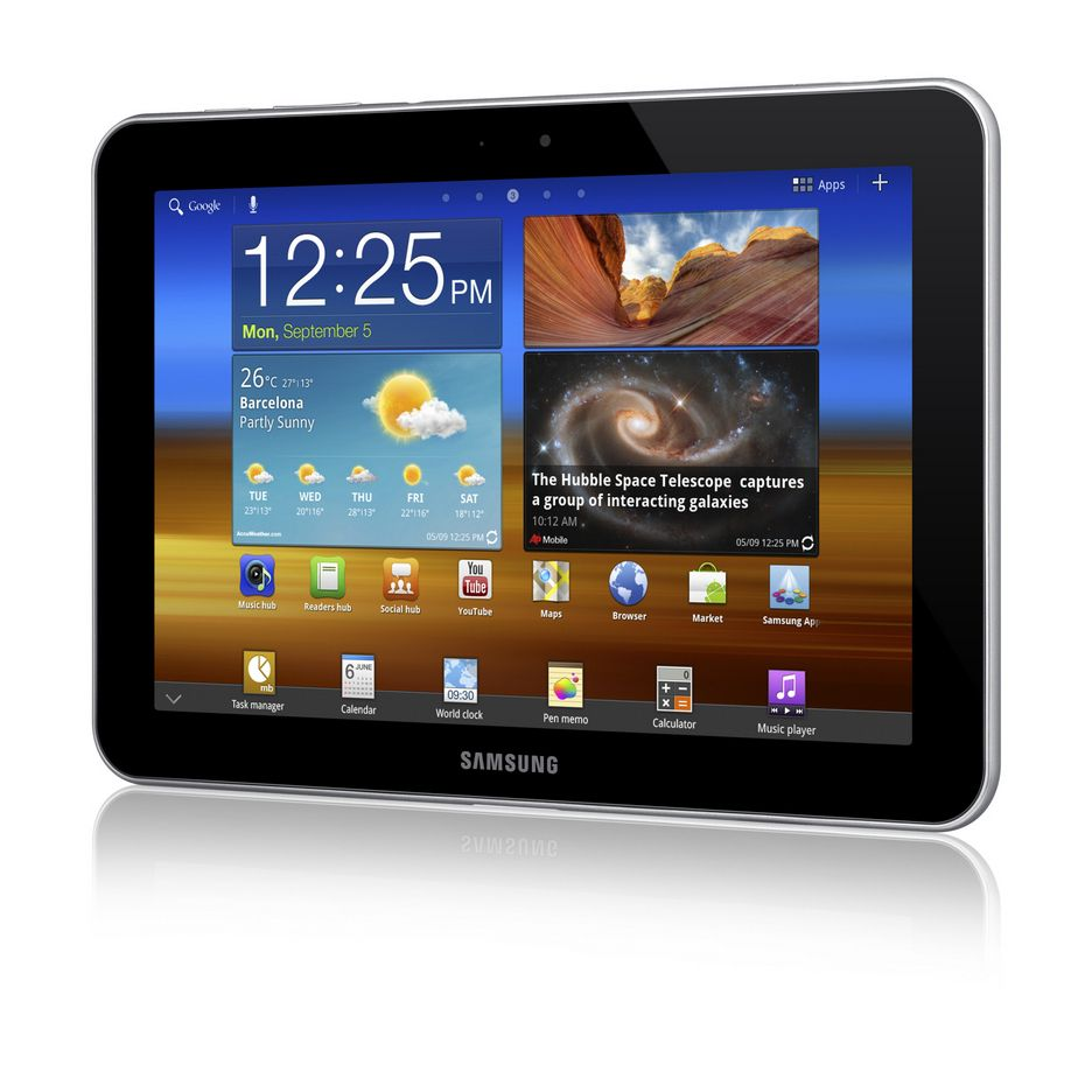 FØRST MED LTE: Samsungs nye nettbrett, Galaxy Tab 8.9 LTE, er først med LTE.