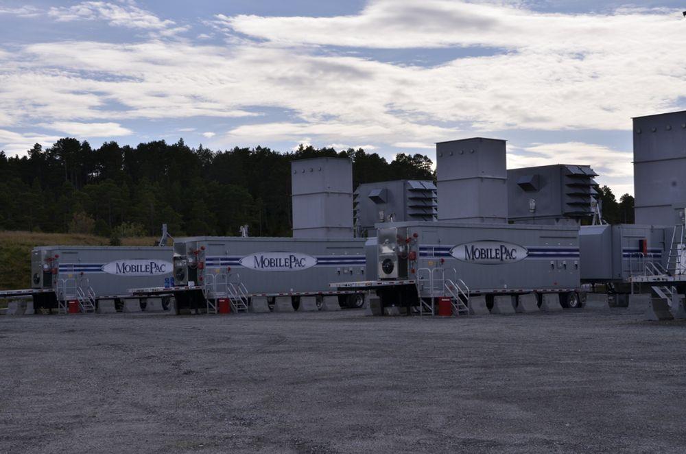 RESERVEKRAFT: Statskraft anlegg som ikke er tillatt å bruke er den eneste milliardinvesteringen på Tjeldberodden ved siden av metanolfabrikken.