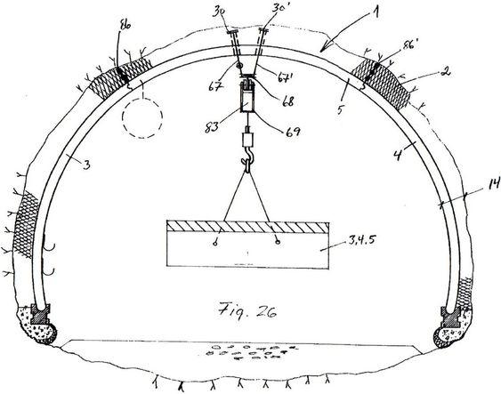 LÃPEKATT: I elementene vil Dalegården støpe inn gjenehylser. Disse kan brukes til å feste en skinne i taket, som kan brukes til å frakte elementene, og annet det er behov for å frakte, inn fra tunnelåpningen.