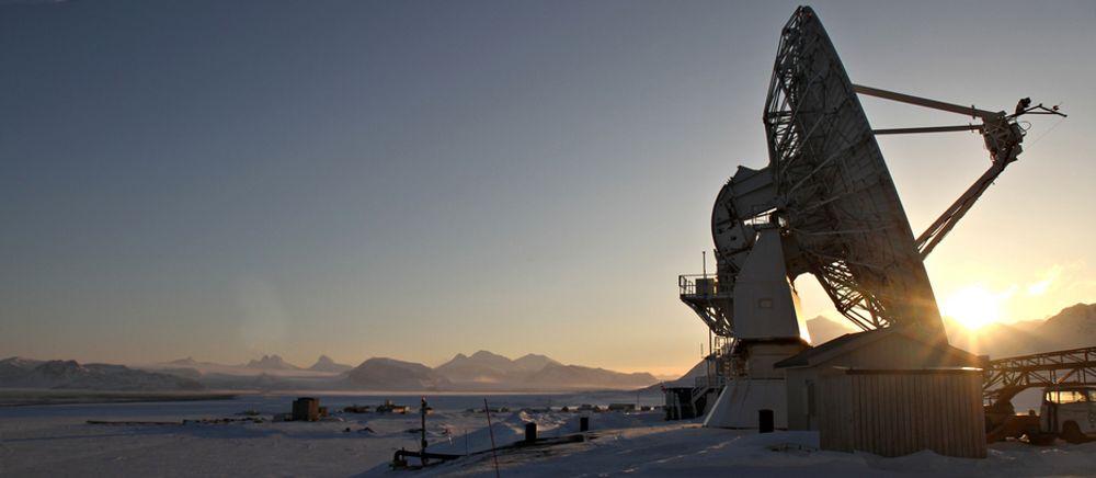 VIKTIG: Observatoriet på Svalbard er viktig både for GPS-målingene Ola Nordmann bruker i dagliglivet, og for klimaforskningen.