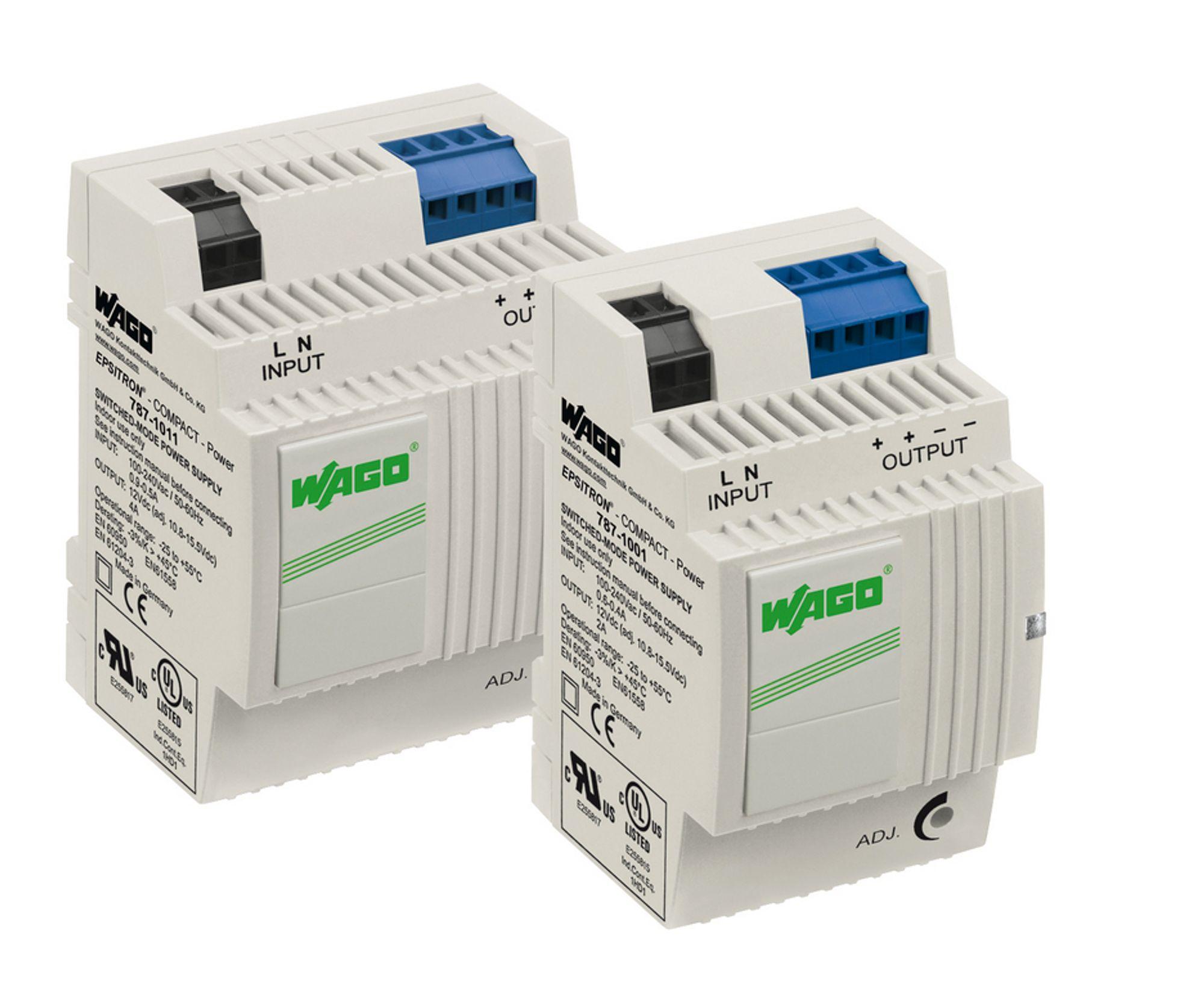 Kompakte strømforsyninger