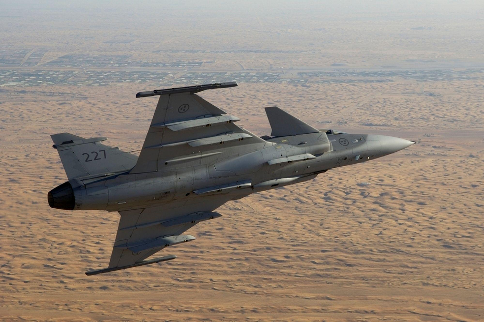Sveits kjøper 22 Gripen-fly.