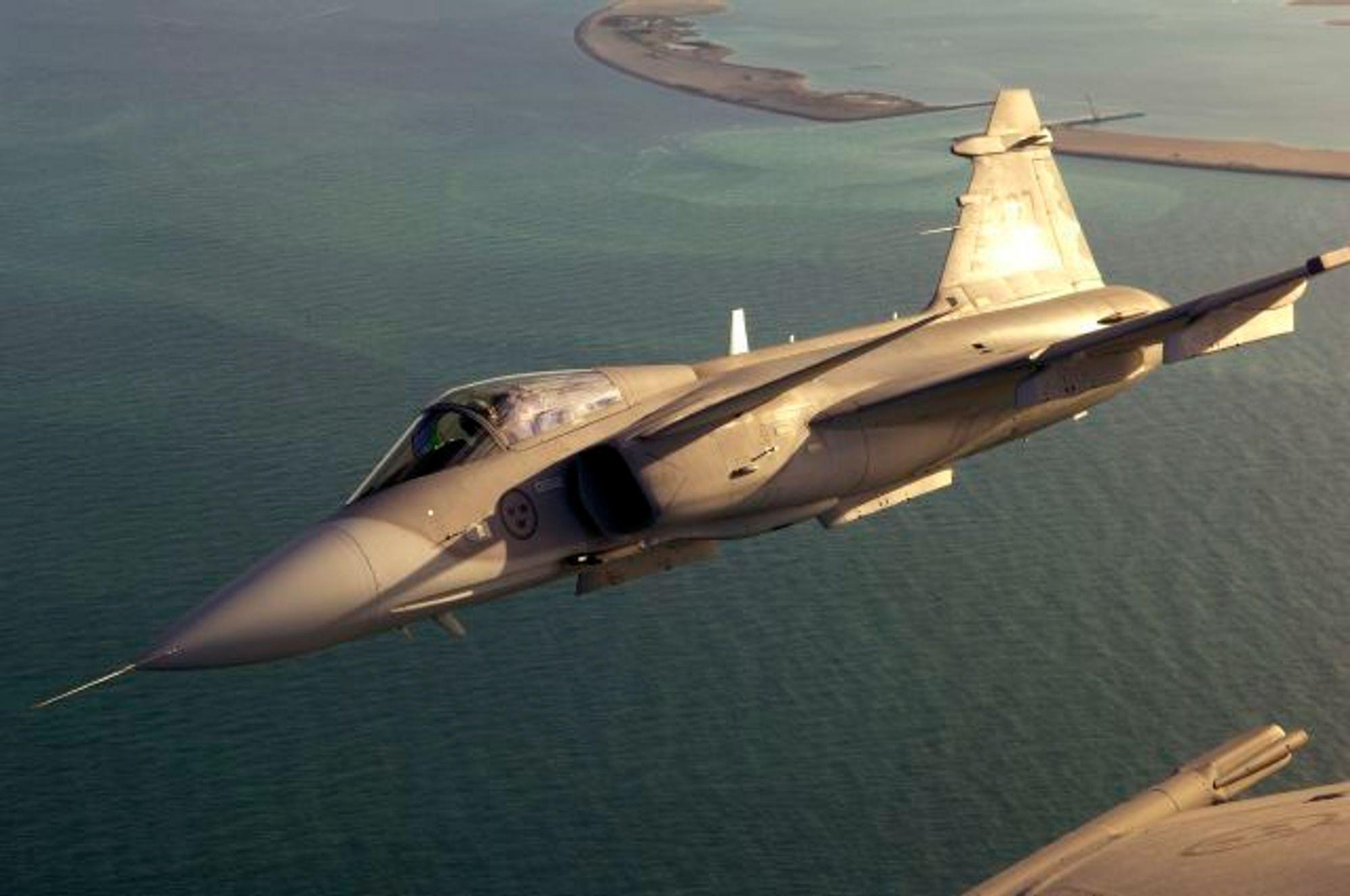 Sveriges forsvar har utredet en førerløs versjon av JAS Gripen.
