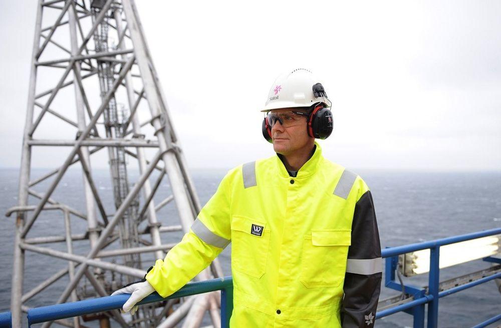 Helge Lund leverer et rekordhøyt resultat for andre kvartal i år, mye grunnet økt oljepris.