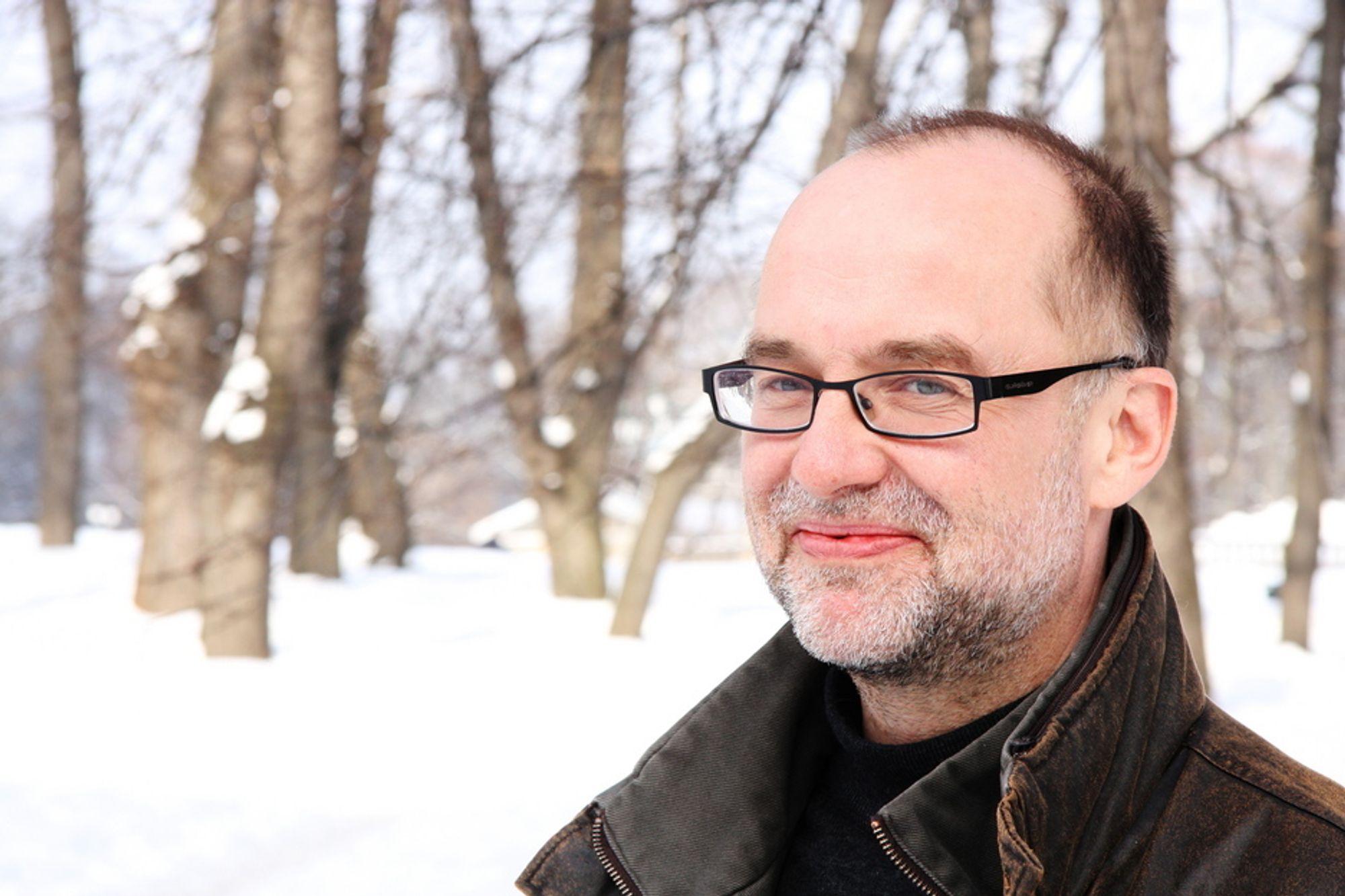 Anders Bjartnes gikk fra journalistikken til å bli daglig leder i Norsk Klimastiftelse.