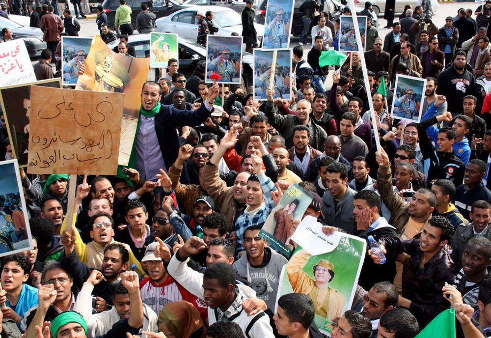 UROLIG: Statoil har besluttet å stenge sitt kontor med 30 ansatte i Libyas hovedstad Tripoli på grunn av opprøret i landet.