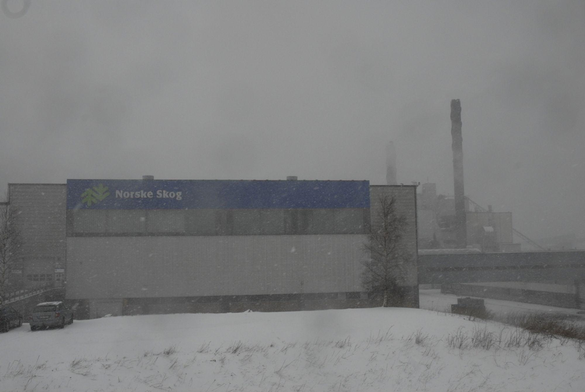 SIKRET TIL 2018: Den nye avtalen med NTE sikrer Norske Skogs fabrikk på Skogn i Nord-Trøndelag 0,4 TWh per år frem til utgangen av 2018.