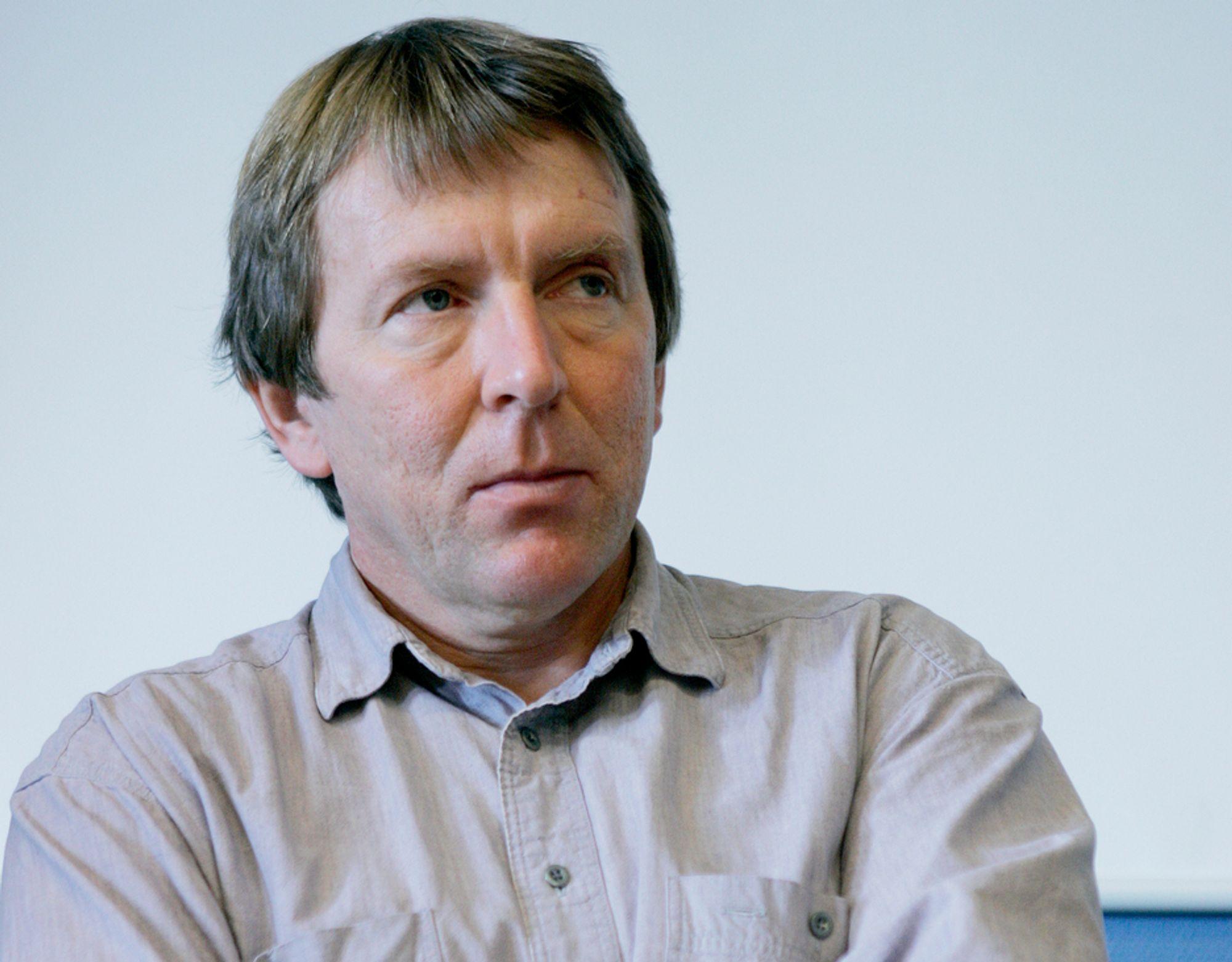 NYTT: Helge Rykkvik er ikke i tvil om at oljeselskapene vil profittere på en varmere klode.