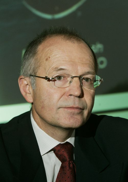 Påtroppende StatoilHydro-styreleder Svein Rennemo (60). Han blir sittende som PGS-sjef til 1. april. Først da overtar han som styreleder i oljeselskapet.