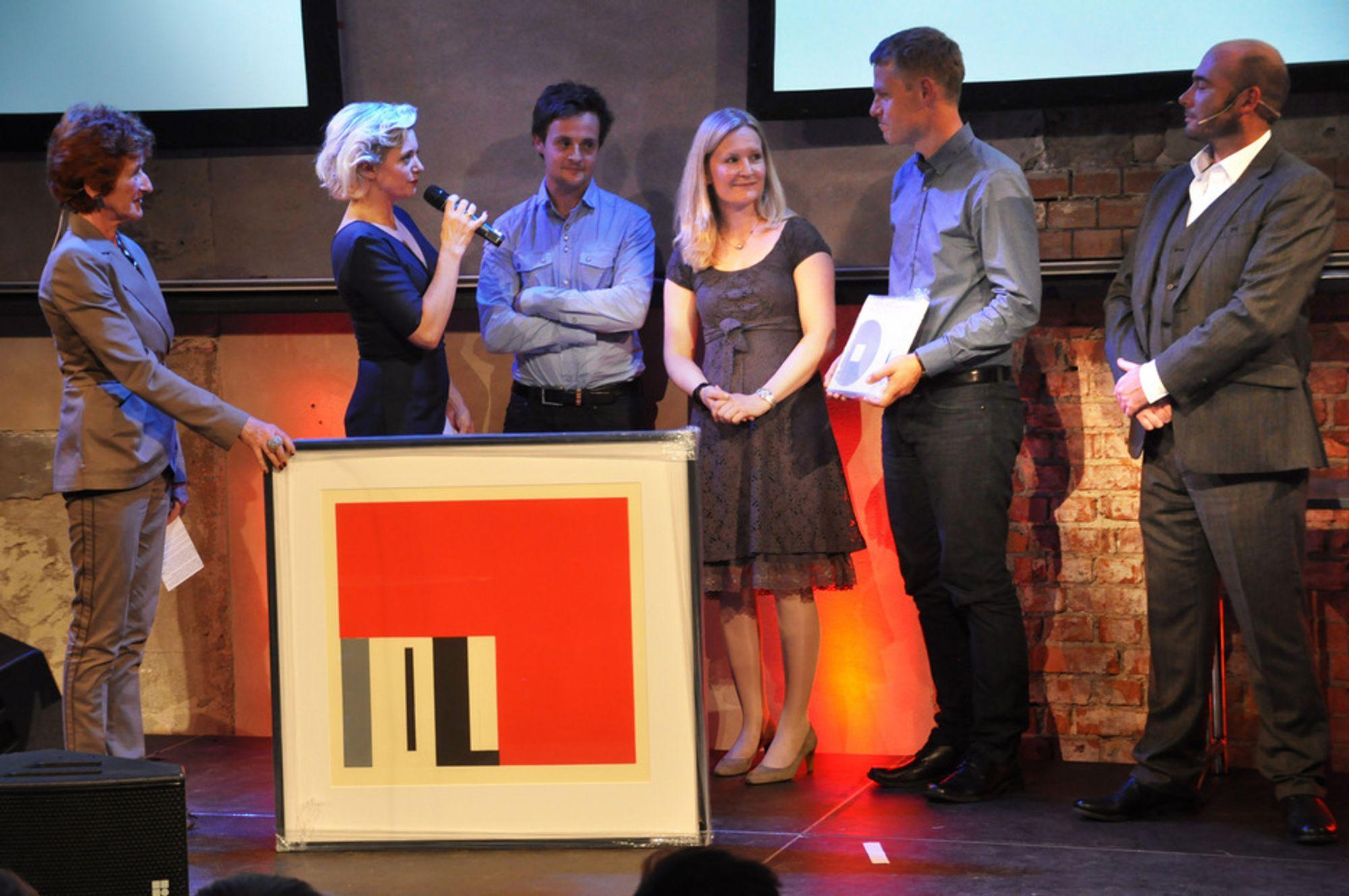 Laerdal Medical fikk Norsk Forms hederspris onsdag.