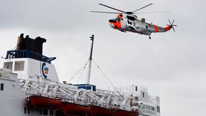 BILDESERIE: Katastrofeøvelse i Oslofjorden