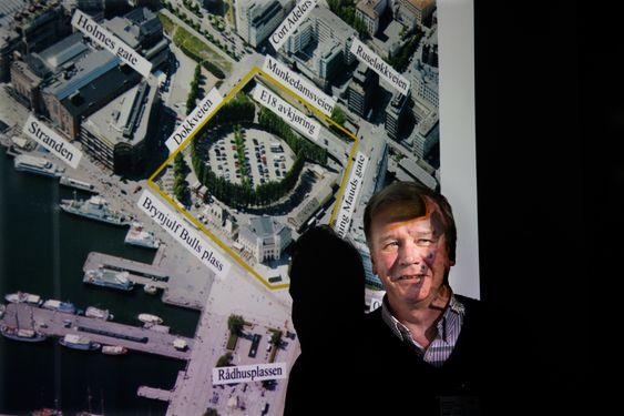 FREMSKRITT: Nytt Nasjonalmuseum på Vestbanen kan få passivhusstandard, forteller prosjektdirektør Per Willy Sæter fra Statsbygg.