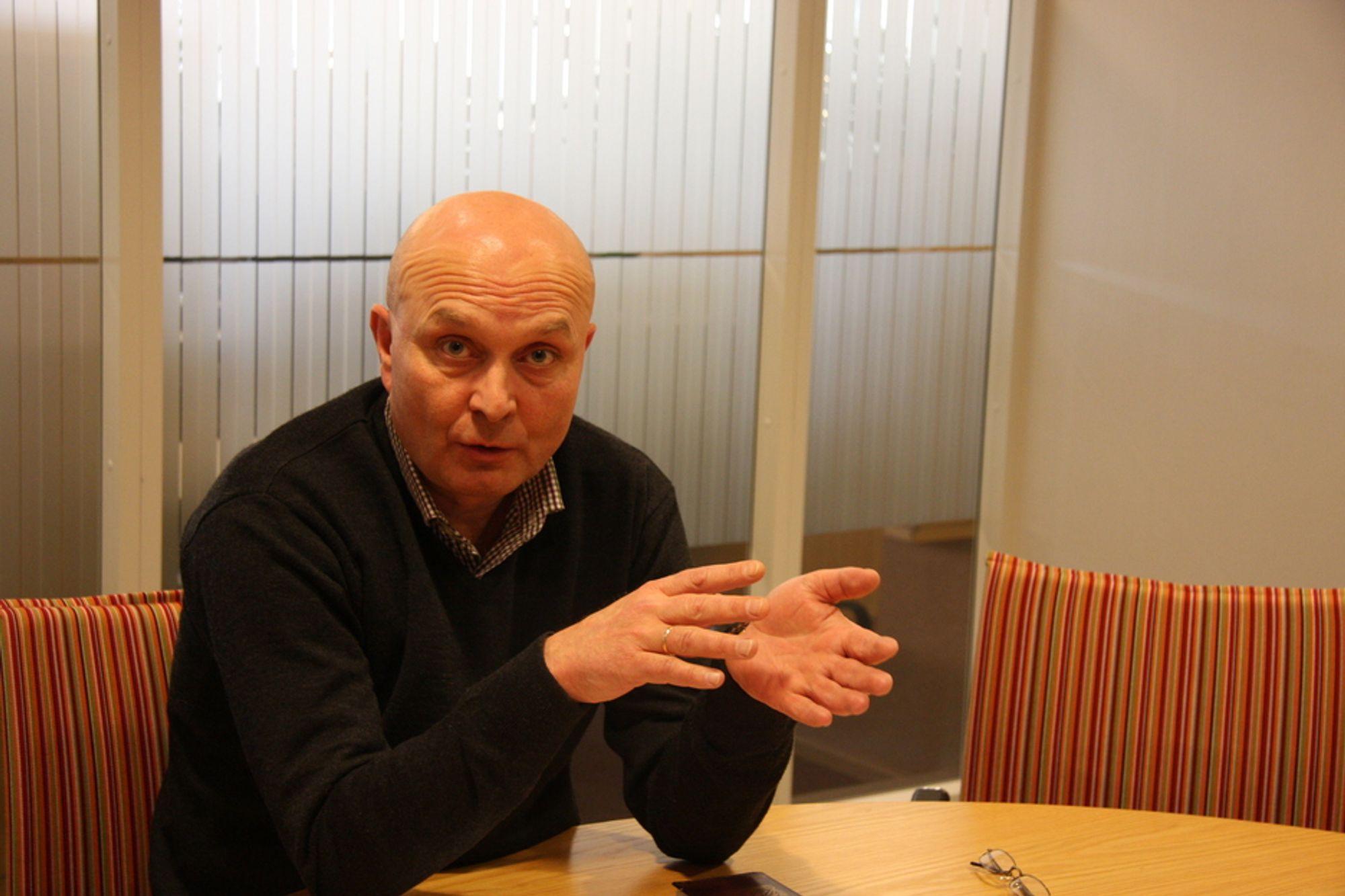 TILHENGER: ¿ Vi i BNL er tilhengere av å bygge energivennlige bygg, men kravet om at alle skal være slik må ikke komme for raskt, sier BNL-direktør Ketil Lyng.