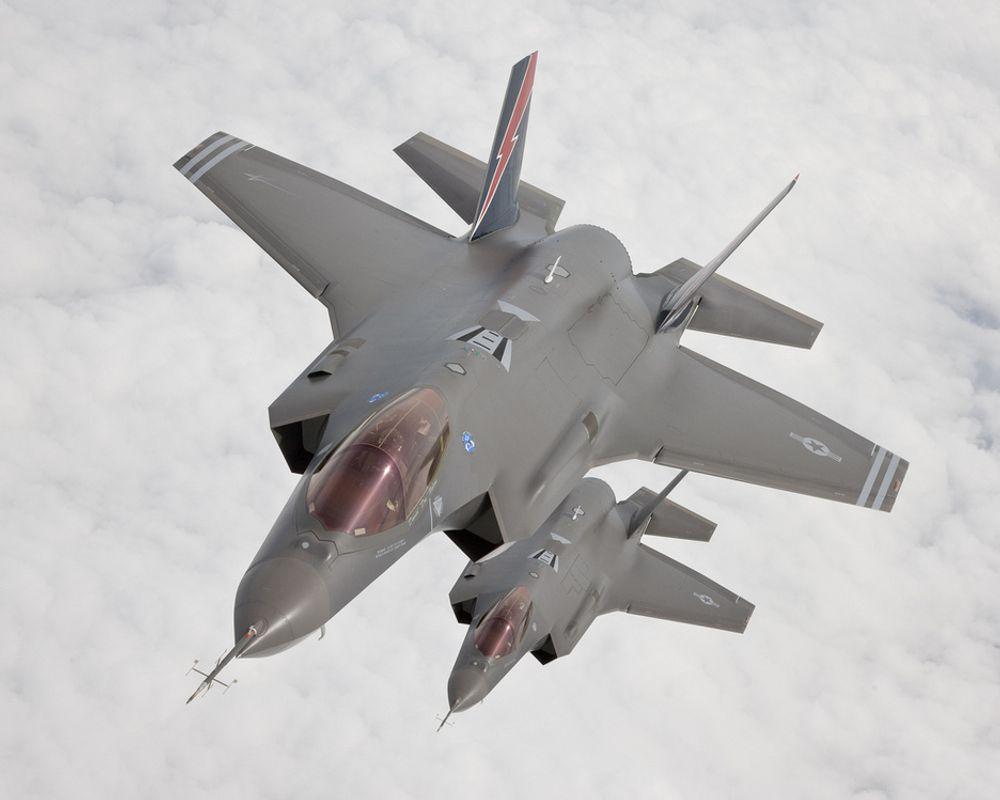 F-35 Lightning II produseres av Lockheed Martin.