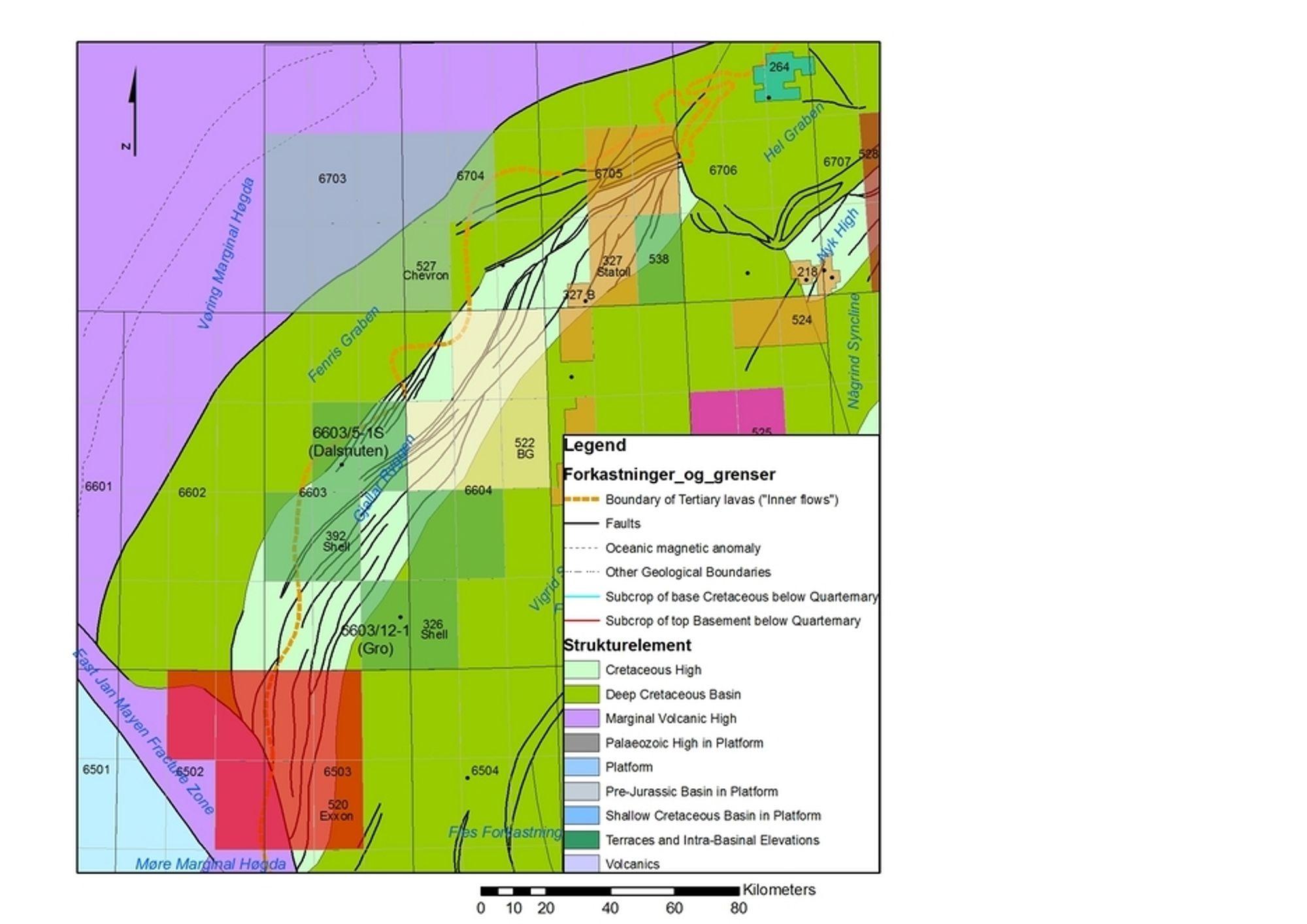 Chevron, ExxonMObil, Idemitsu og Petoro skal forsøke å knekke basalt-koden sammen.