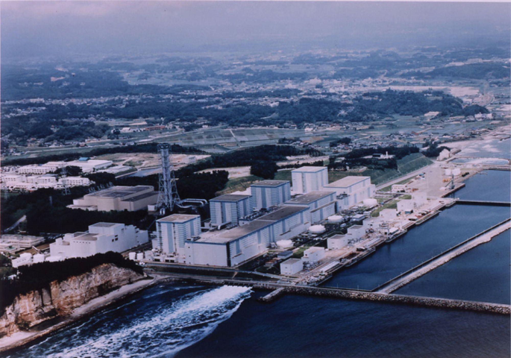 Fukushima II / Fukushima Daini kjernekraftverk Japan