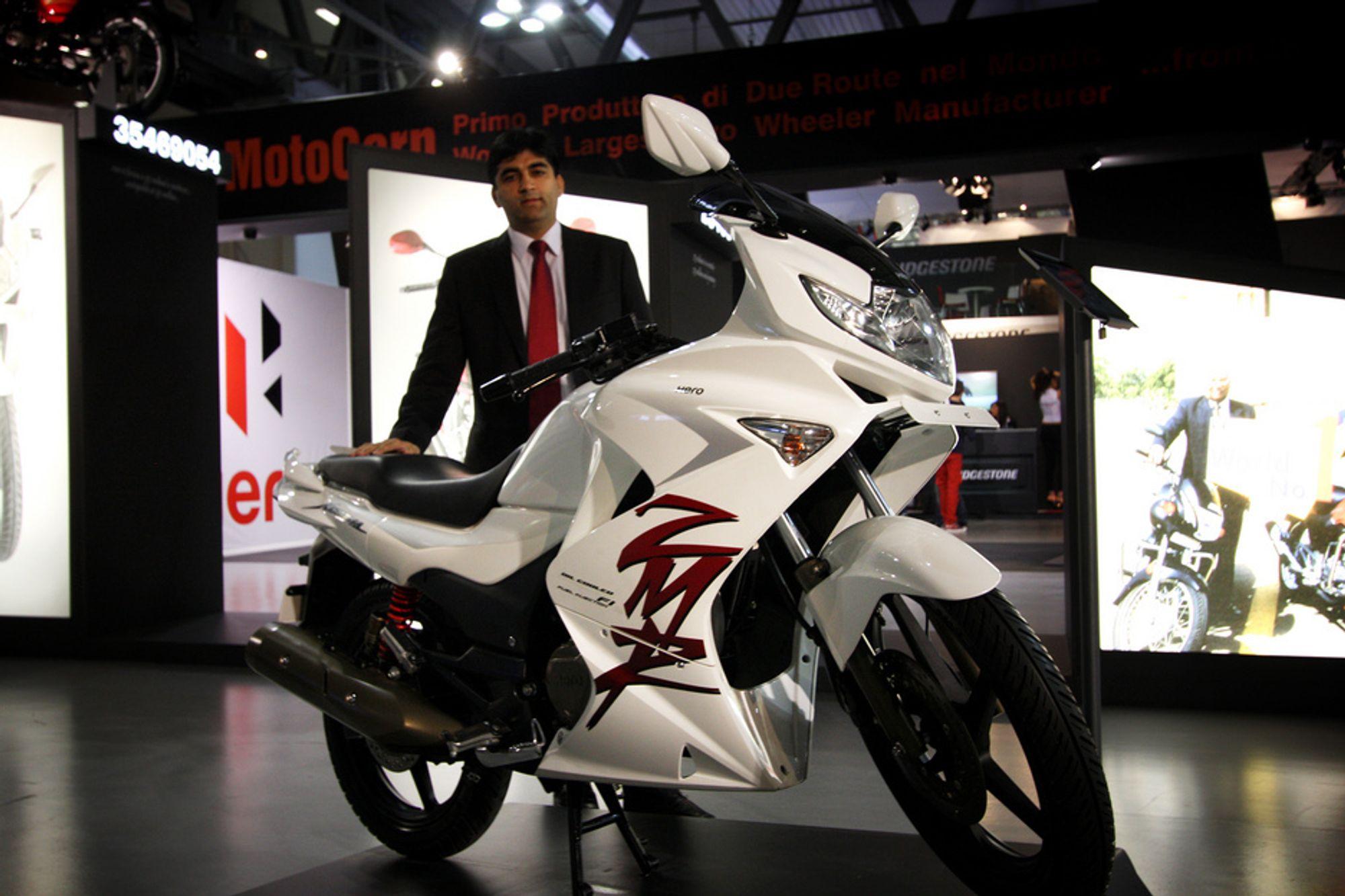 VIL LÆRE: Markedsdirektør Anuj Dua i verdens største mc-produsent tar sikte på å erobre det europeiske markedet.