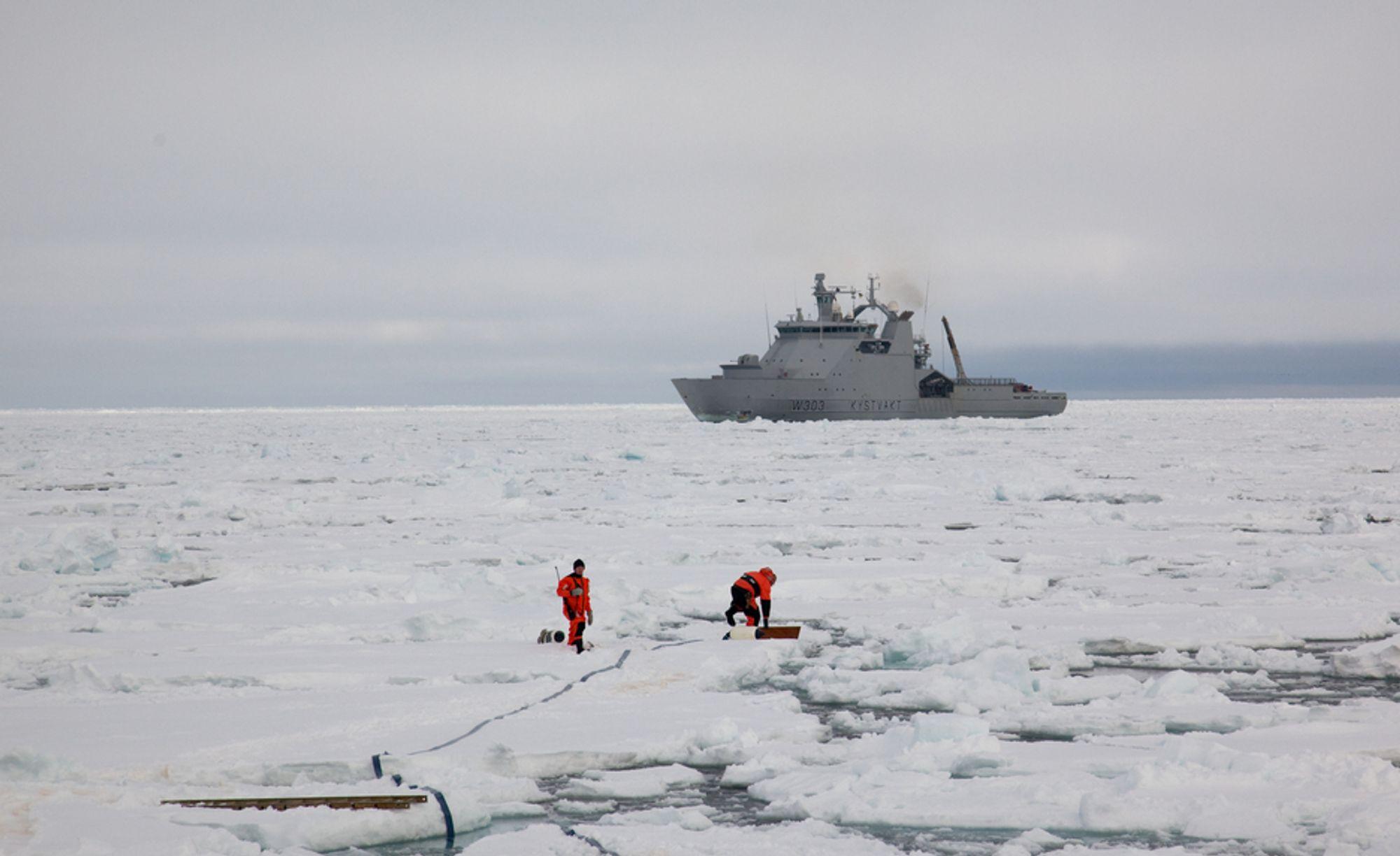 Borten Moes utspill om å la oljeselskapene bore hele veien mot Nordpolen skaper full strid i regjeringen.