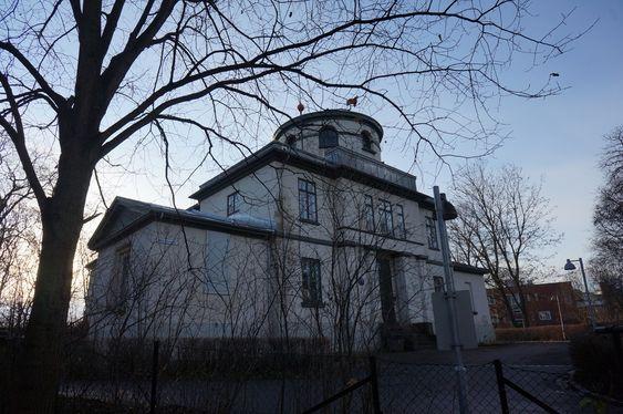 NYÅPNET: På 1800-tallet ble Observatoriet brukt til å plassere Norge på kartet.