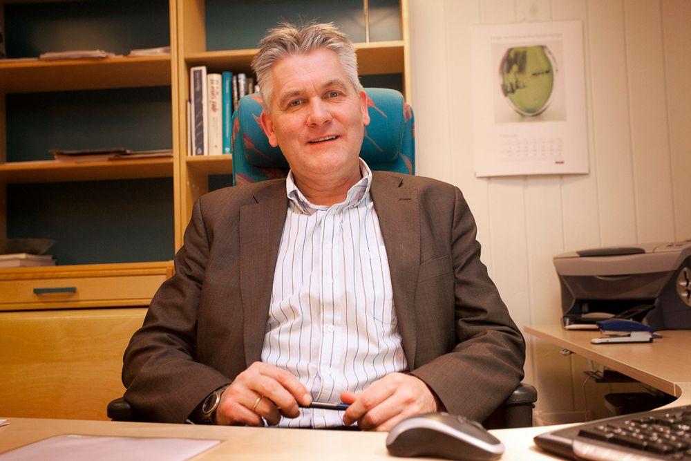 RYSTET: Konsernsjef Oddbjørn Schei i Troms Kraft er rystet av at det heleide datterselskapet Kraft & Kultur har drevet storstilt manipulasjon med regnskapene.
