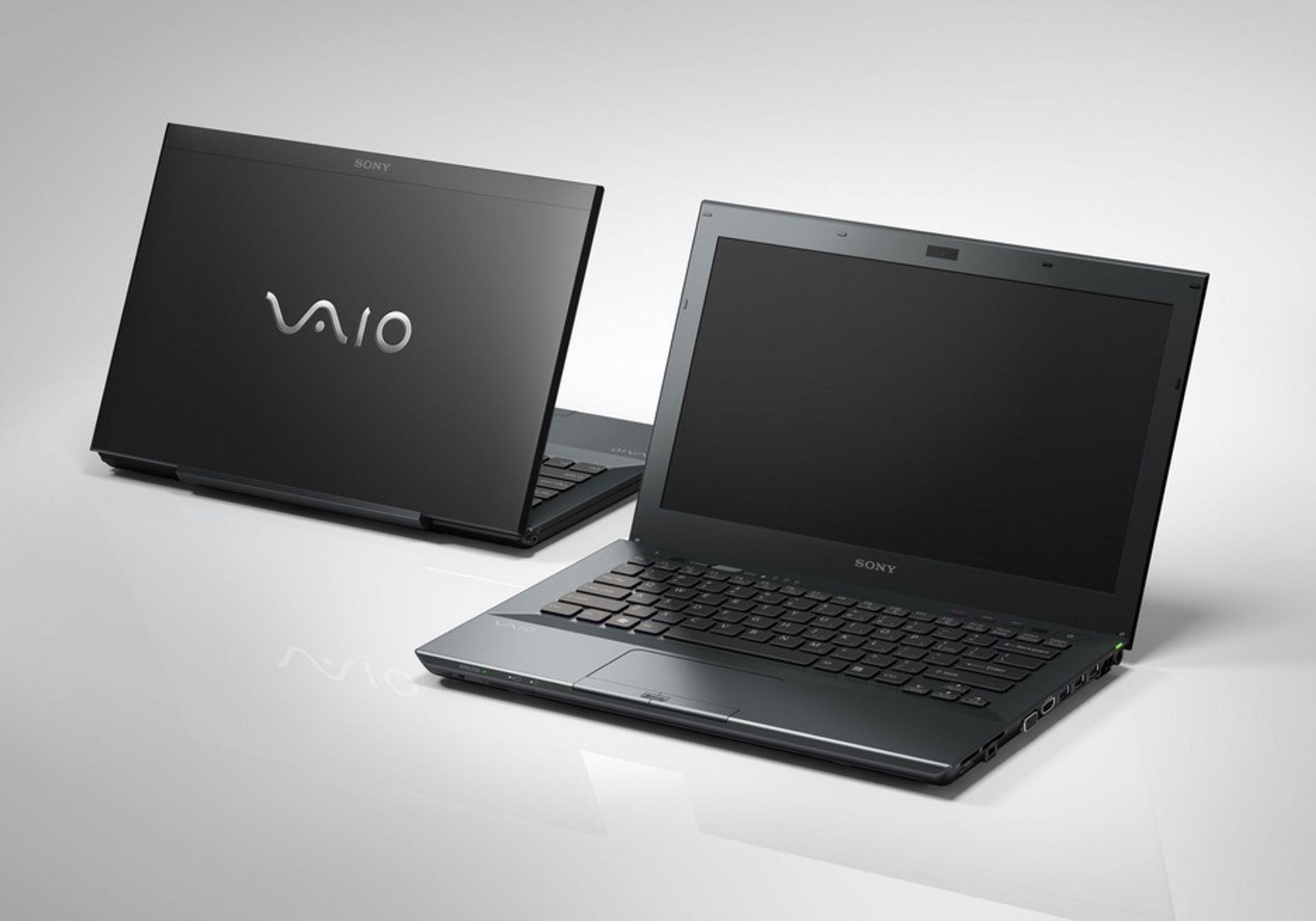 Sonys VAIO S-modeller får en oppgradering.