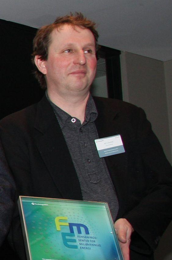 Nye FME-er utpekt 15. februar 2011. Rolf Golombek ved Frischsenteret.