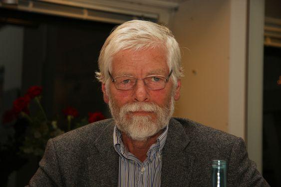 Debatt om høyblokka på Oslo bymuseum. Lars Roede, Erlling Fossen, Janne Wilberg, Peter Butenschøn