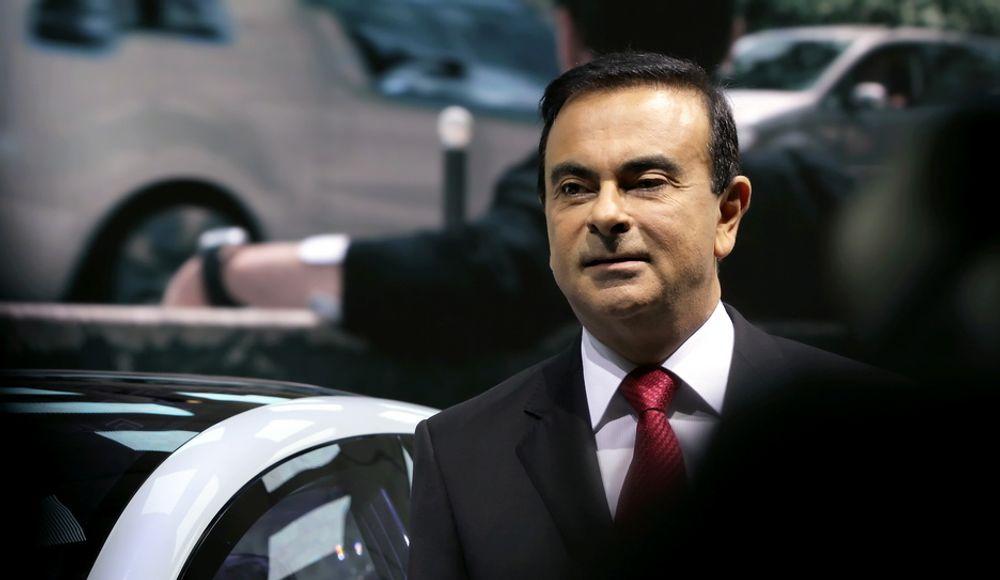 """Carlos Ghosn leder Renault-Nissan-alliansen. Nå varsler han at de sammen med den strategiske samarbeidspartneren Daimler vil satse helhjertet på """"bølge to av nullutslippsbiler"""", nemlig brenselcellebilen."""
