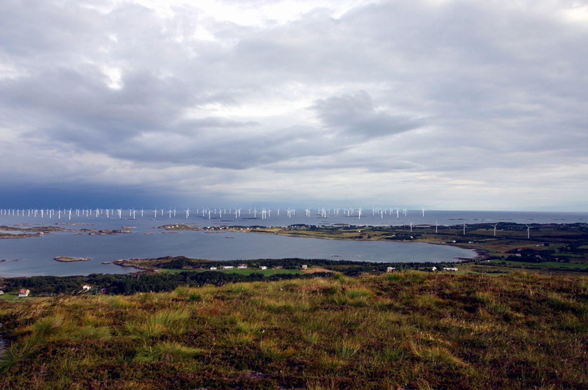 NORSK HAVVIND-DRØM: Vattenfall Power Consultant AB Norge har vunnet en Havsul 1-kontrakt.