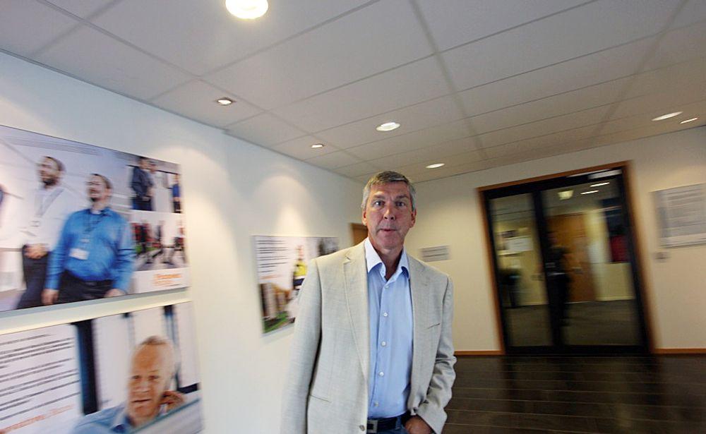 STORSATSING: - Når Siemens først satser på noe, er det for å bli blant de største innen segmentet, sier direktør Atle Strømme.