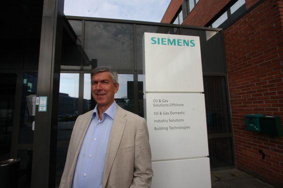 Atle Strømme direktør i Siemens Subsea