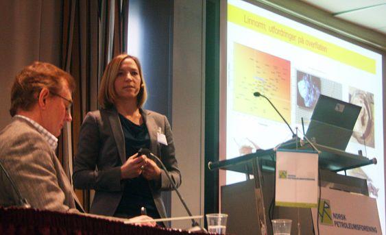 KOMPLISERT: Reservoaringeniør i Shell, Marianne Olsnes, sier Linnorm er svært krevende.