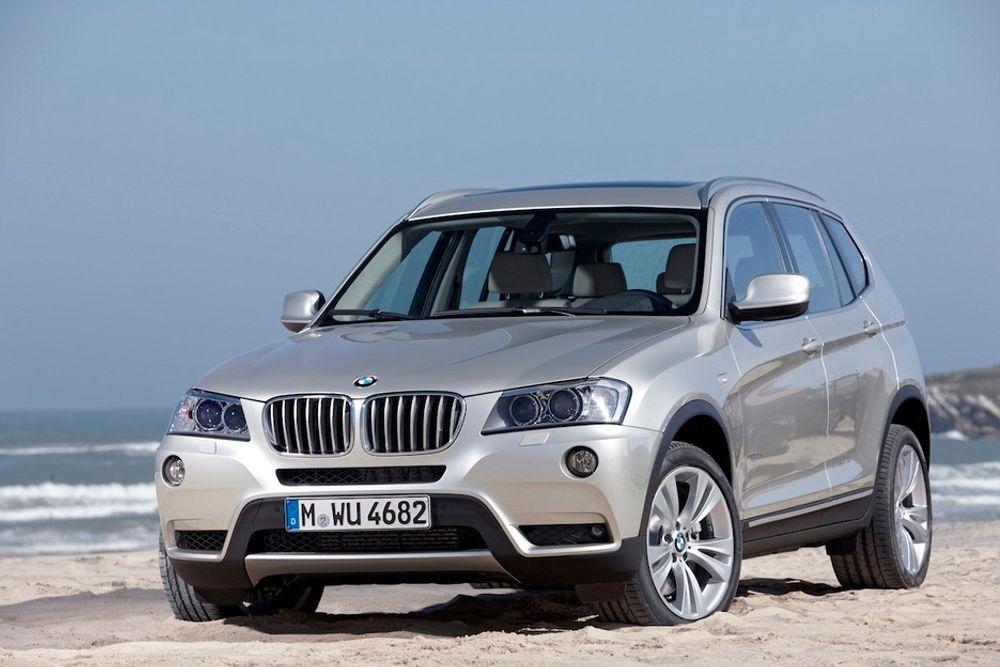 BMW X3: Nye BMW X3 har et forbruk på 0,56 liter per mil ved blandet kjøring, noe som tilsvarer bare 147 gram/km i CO2-utslipp.