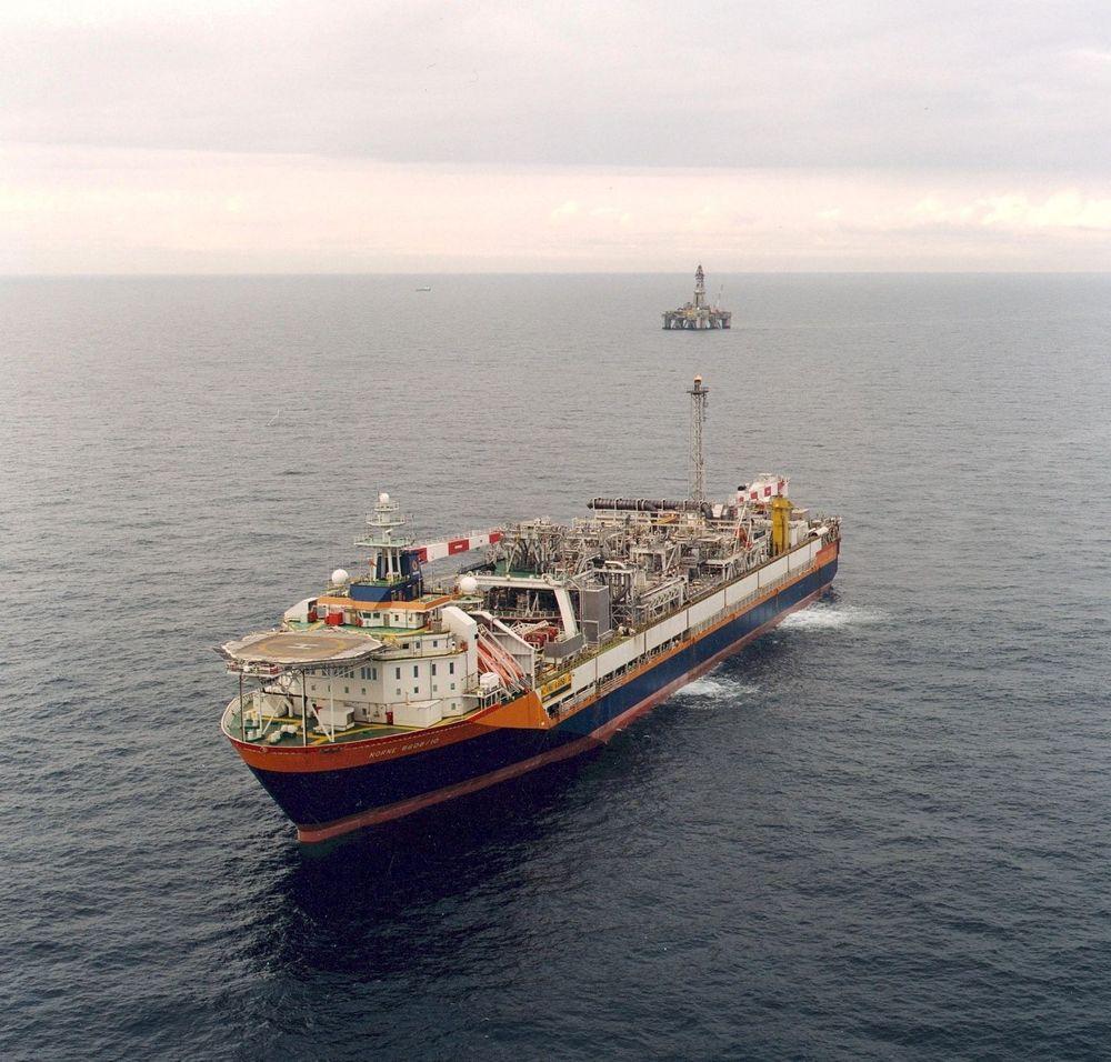 Fossekall/Dompap skal knyttes opp mot Norne-skipet.