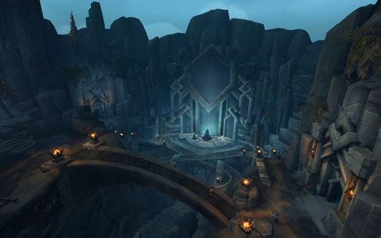 En av hulene for spillere på maksnivå i Legion; Helheim.