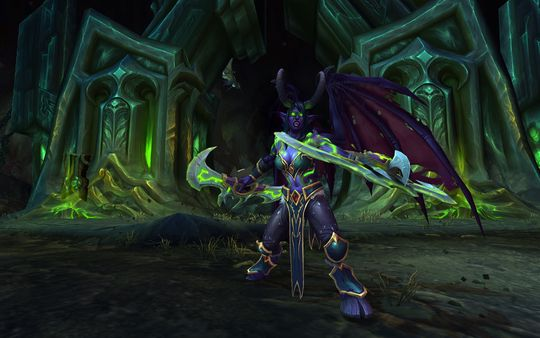 Den nye klassen som introduseres i Legion: Demon Hunter.
