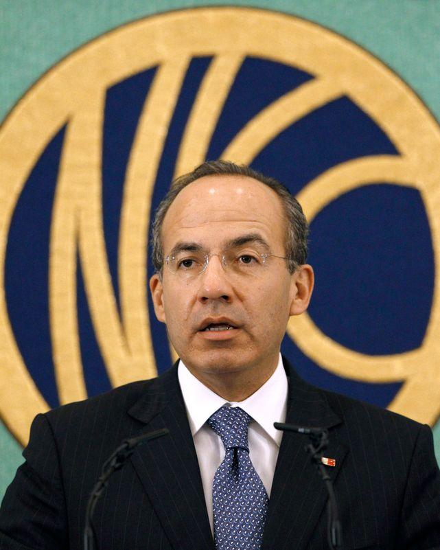 Mexicos president Felipe Calderón mener det er nødvendig med en gjennomgang av prosedyrereglene som gjelder i de internasjonale klimaforhandlingene for å gjøre det lettere å få vedtatt en ny klimaavtale.