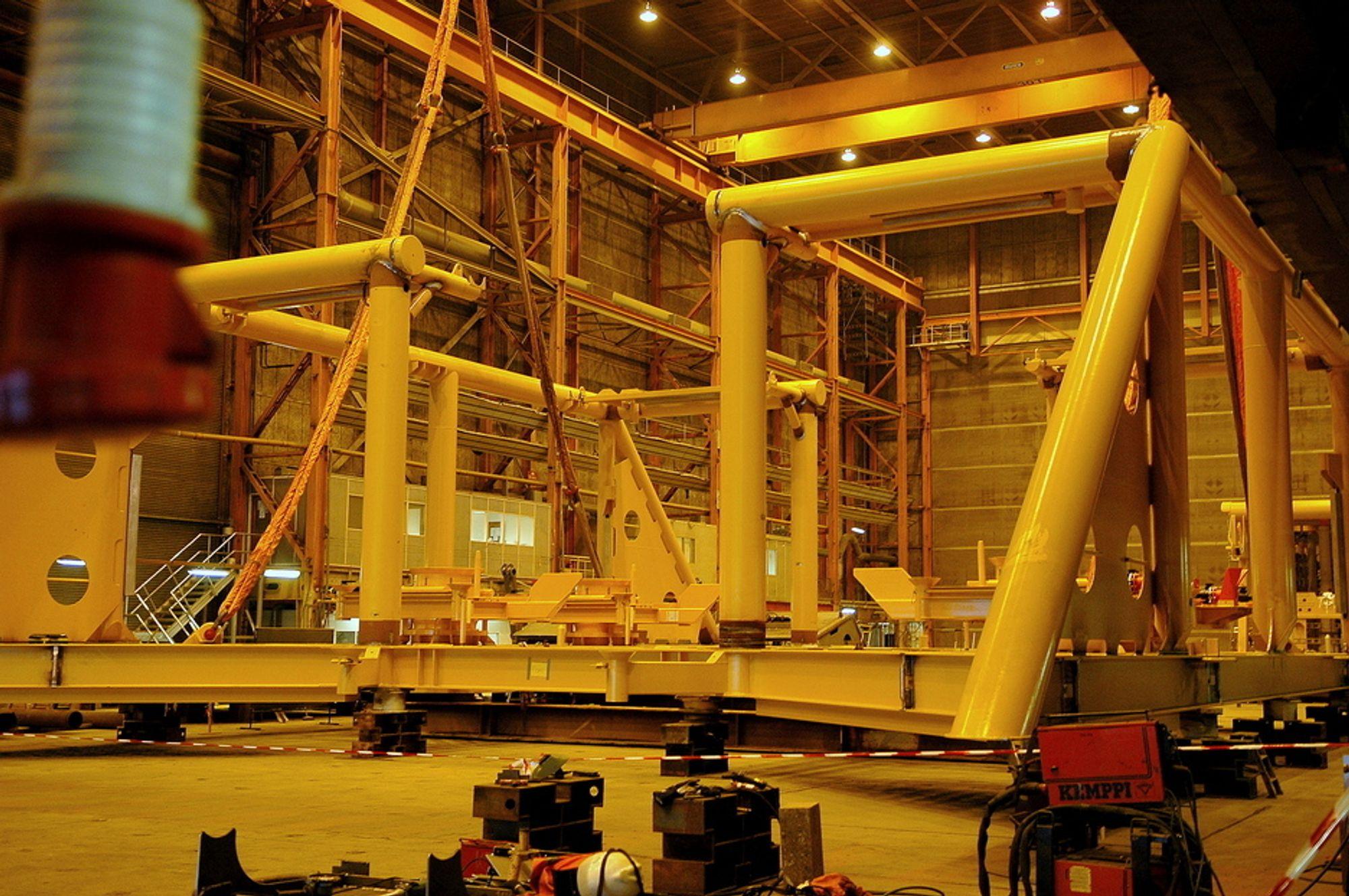 Oljerelatert industri trekker industriomsetningen ned, ifølge SSB.