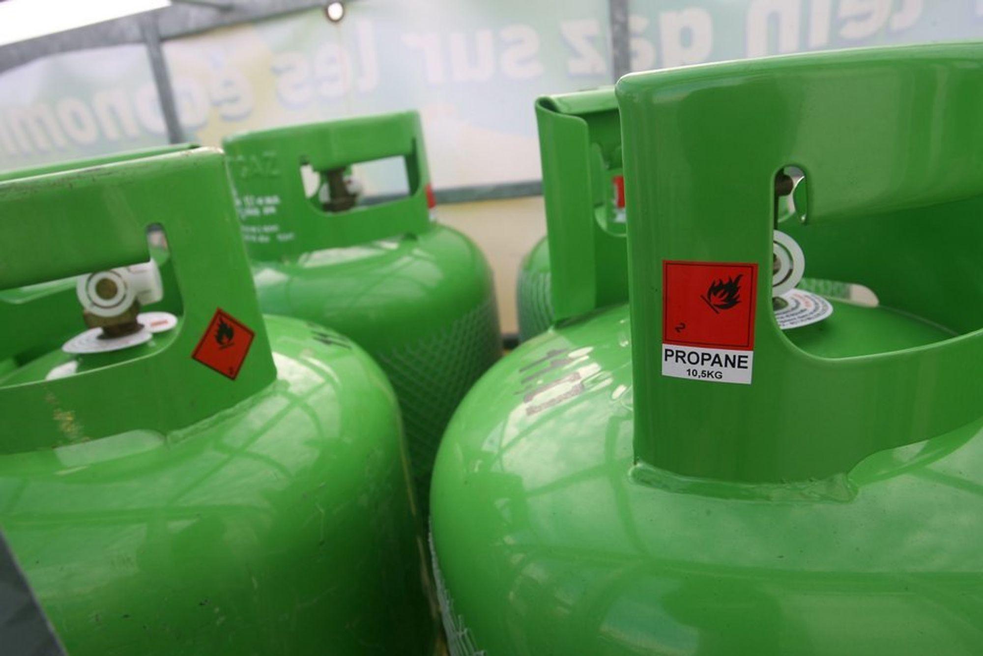 En tank med propan som ble brukt til oppvarming sprang lekk på Tomasjordnes i Tromsø tidligere i år. Nå får Troms Kraft kraftig kritikk fra DSB for hendelsen.