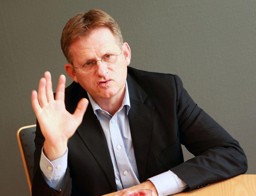 IBMs administrerende direktør Morten Thorkildsen tror sensorbasert overvåking blir viktig. - Det er veldig tilfredsstillende å kunne utvikle produkter for det globale markedet her i Norge, sier han.
