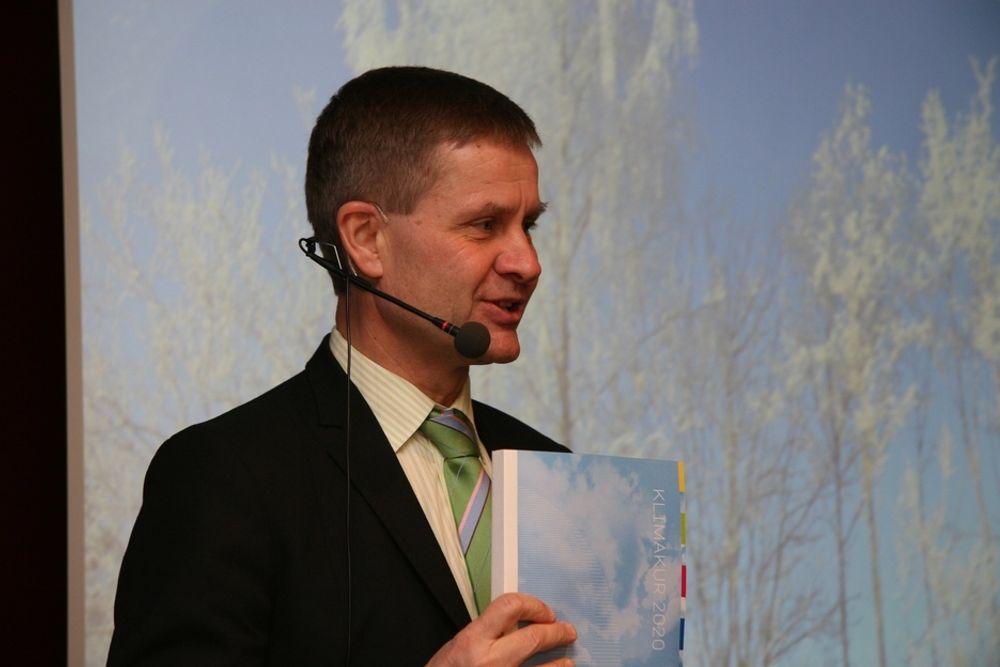 Miljøverndepartementet har opprettet egen blogg om Klimakur 2020, melder miljøvernminister Erik Solheim.
