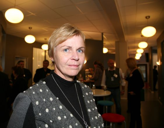 Marit Stykket, president i NITO.