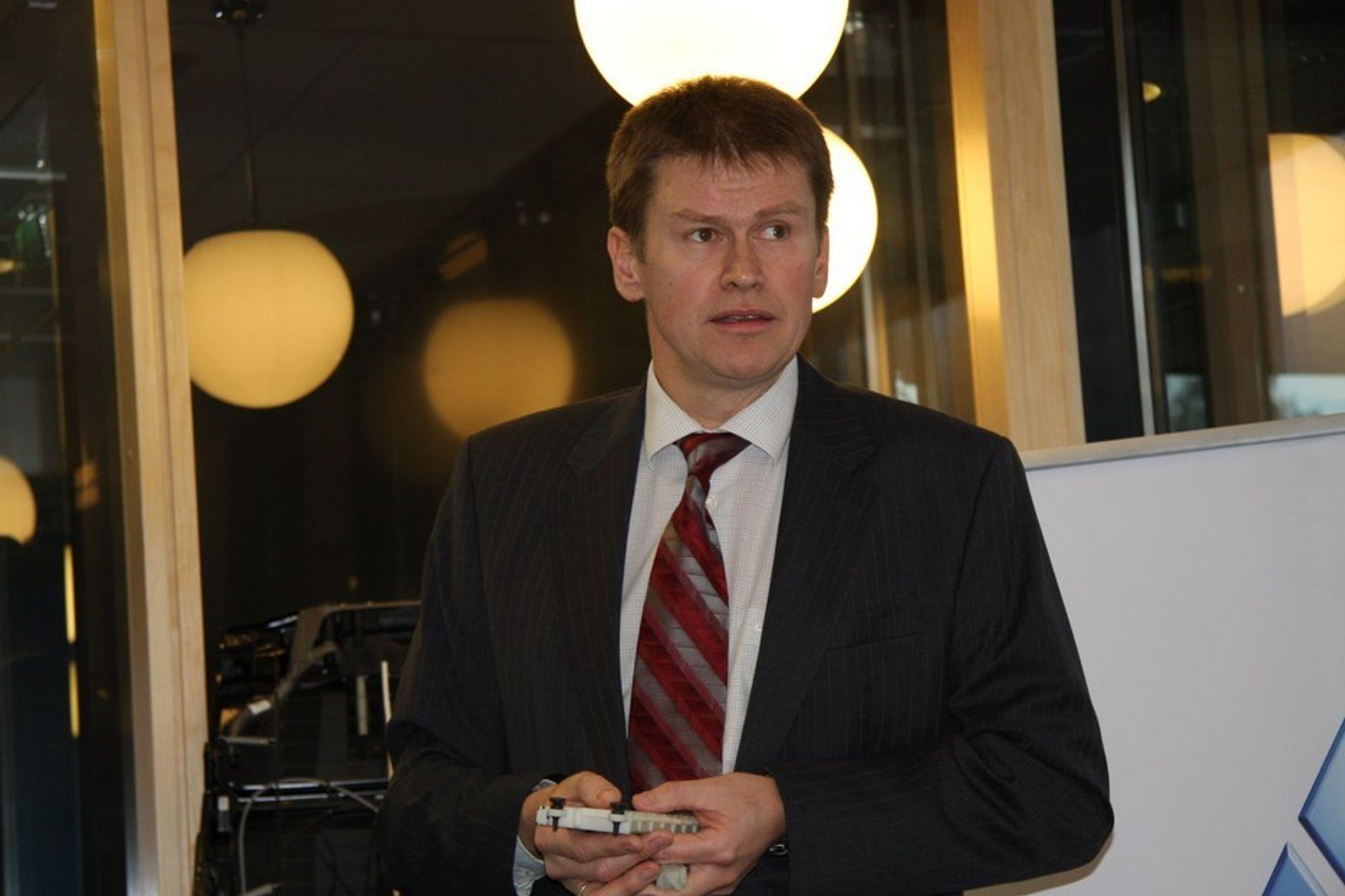 Konsernsjef Hans Peter Havdal i Kongsberg Automotive kan glede seg over ny kontrakt med Chrysler.