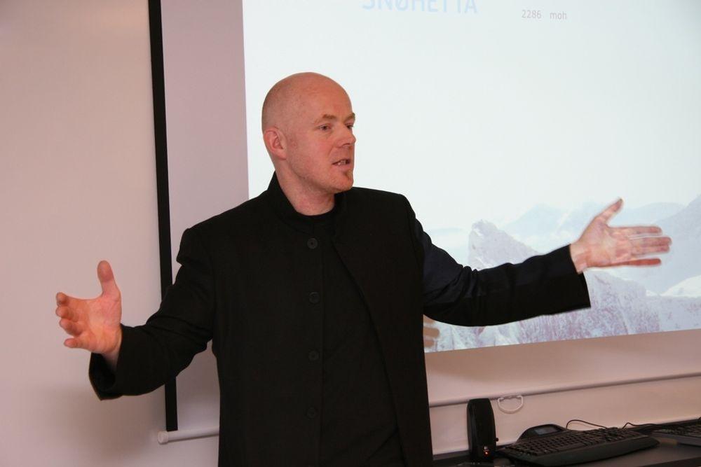 KRITISK: Ole Gustavsen er kritisk til manglende vilje til miljøsatsing både hos offentlige og private byggherrer.